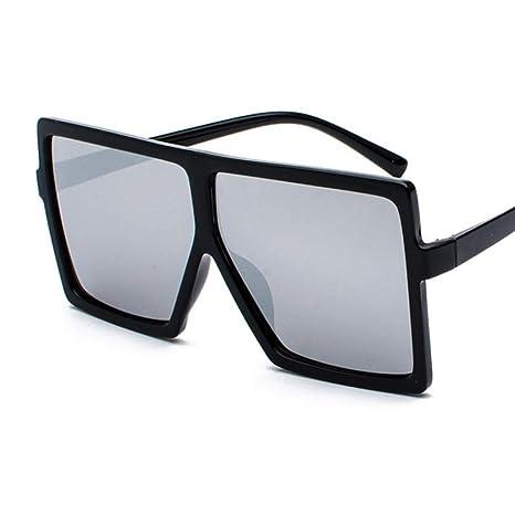 Yangjing-hl Gafas de Sol clásicas de Gran tamaño para ...