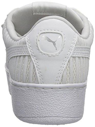 Vikky Ep Chaussures Platform White Puma White Pour puma Femmes qCdSC76xR