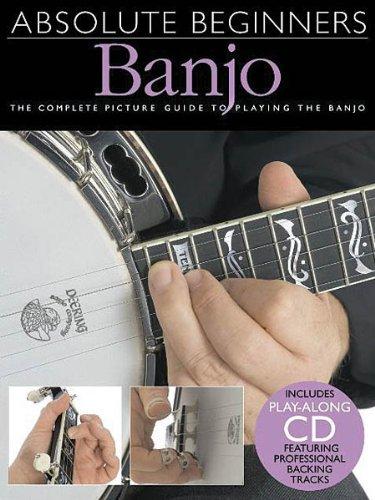 Hal Leonard Absolute Beginners Banjo (Book and CD)