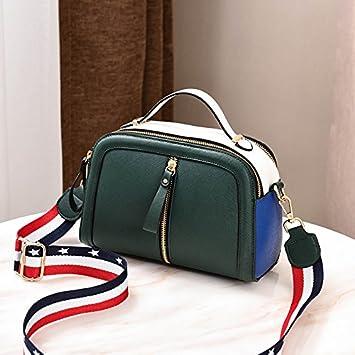 WENLONG Las niñas con Bolsas pequeñas,Verde negruzco: Amazon ...