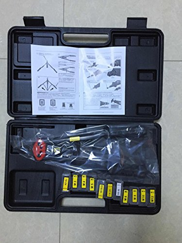 Suitcase Tool box 17'' 440mm M3 M4 M5,m6,m8,m10 M12, 10-24, 1/4-20 , 5/16-18,3/8-16 ,Hand Riveter Rivet Gun, Riveting Tools with Nut Setting System M3-m12 Bt607 by Unknown (Image #2)