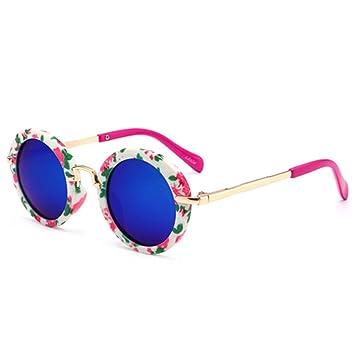 CCGSDJ Polarizado Vintage Gafas De Sol Redondas Moda para ...