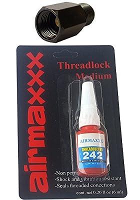airmaxxx Black Air Ride Check Valve & Liquid Thread Locker