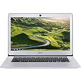 """Acer 14"""" Chomrebook, Intel Celeron N3160 1.60 GHz, 4GB Ram, 32GB Flash, Chrome OS   CB3-431-C5FM ( Certified Refurbished)"""