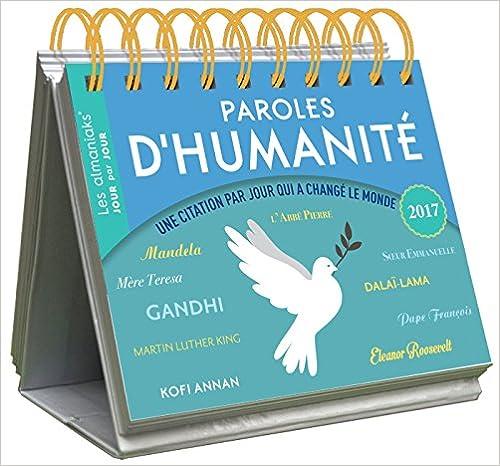 Almaniak Paroles d'humanité 2017