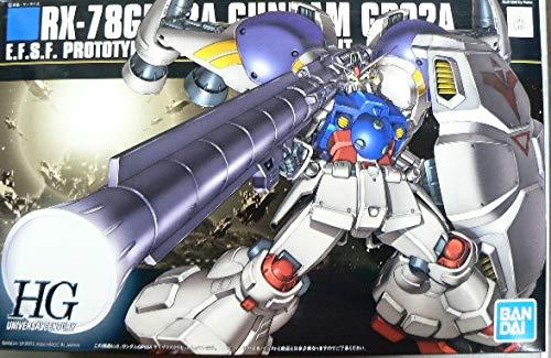 BANDAI SPIRITS HGUC Mobile Suit Gundam 0083 Stardust Memory Gundam GP-02A 1/144 Scale Color-Coded pre-Plastic Model