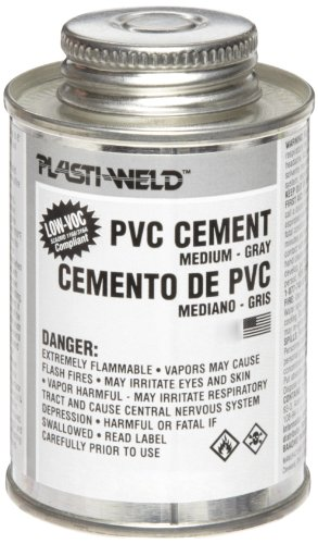 Morris Products G40366S 403 PVC Cement, Medium Bodied, Gray, 1/4 Pint ()