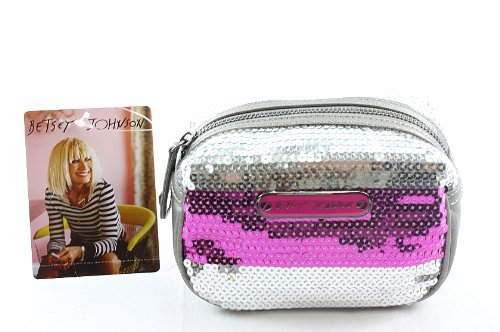 Betseyville Stripe Me Out Small Cosmetic Case, Pink