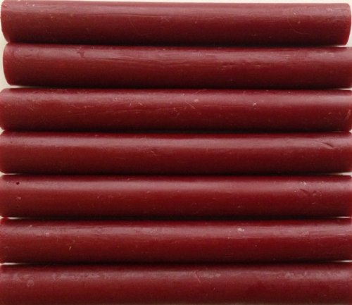 Dark (Cranberry) Red Flexible Glue Gun Sealing Wax - 7 Sticks by Seasons Creations