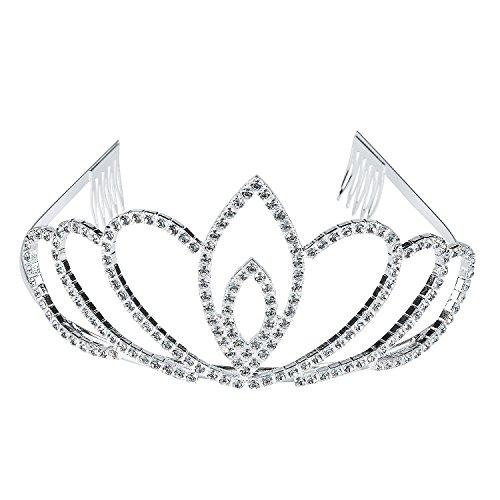Fun Express - Olivia Tiara - Apparel Accessories - Hats - Tiaras & Crowns - 1 Piece