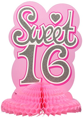 Sweet 16 Centerpiece Party Accessory (1 count) -
