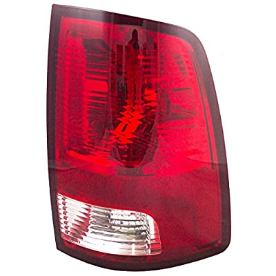 Passengers Taillight Tail Lamp Lens Unit Replacement for Dodge Ram & RAM Pickup Truck 55277414AA