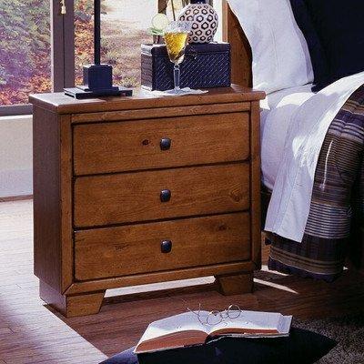 "Progressive Furniture Diego Nightstand, 24"" x 15"" x 25"", Cinnamon Pine"