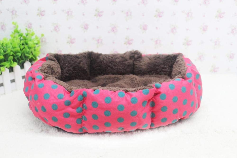 Amazon.com : Dropship Pet Supplies Soft Dot Fleece Small Pet Bed for Cats Dogs Camas para Perros pequenos Small Animals Bed House Kennel CD05 : Pet Supplies