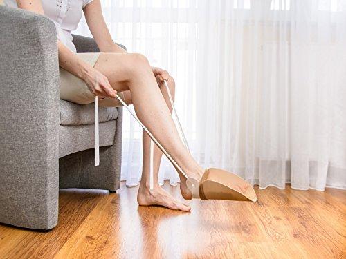 Pflegehome24® Strumpf Anziehhilfe Sockenanziehhilfe, Kunststoff