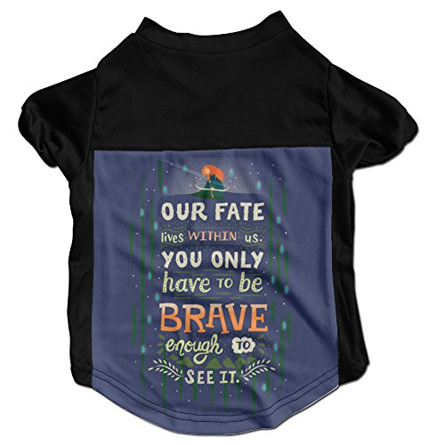 NEW Comfortable Would You Change Your Fate Dog Shirt