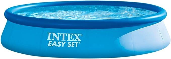 Intex 28143NP - Piscina hinchable Easy Set 396 x 84 cm, 7.290 litros: Amazon.es: Jardín