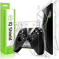 NVIDIA Shield TV + Controller Screen Protector (2015), IQ Shield LiQuidSkin Full Body Skin + Full Coverage Screen Protector for NVIDIA Shield TV + Controller HD Clear Anti-Bubble Film
