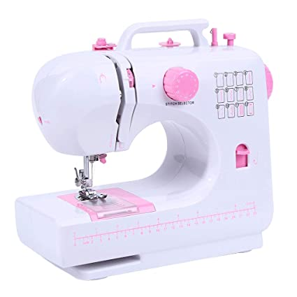 Máquina de Coser Máquina de Coser eléctrica multifunción de Costura de Escritorio
