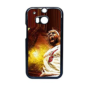 Generic Print With Lebron Raymone James Durable Back Phone Case For Htc One M8 Choose Design 1