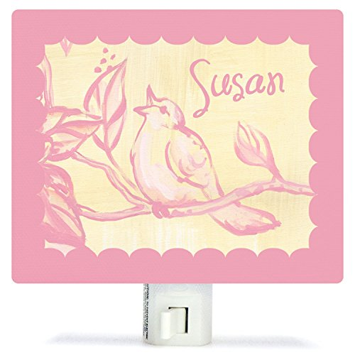 Toile Birdie by Heather Gentile-Collins - Personalized Night Lights, 5