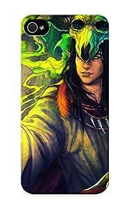 Pinkroses High-end Case Cover Protector For Iphone 5/5s(magic Man Skulls Helmet Fantasy Elf Elves Skull )