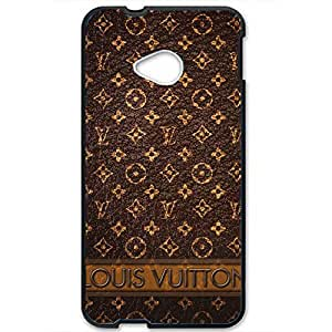 Louis with Vuitton Case Series 3D Hard Plastic Case Cover Snap on Htc One M7 Louis and Vuitton Style
