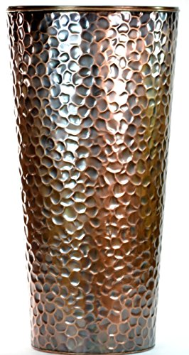 large outdoor copper planters - 6
