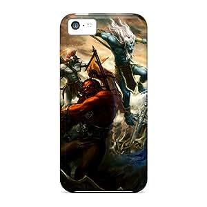 New Tpu Hard Case Premium Iphone 5c Skin Case Cover(dota)