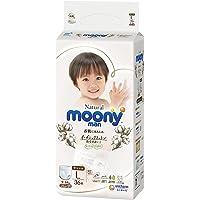 Moony Natural Pants, L, 36 Count (Packaging may vary)