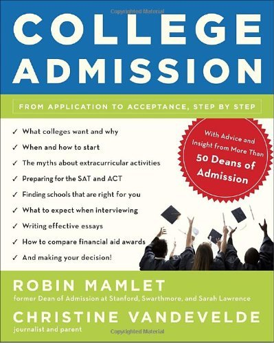 Robin Mamlet Admission Application Acceptance
