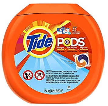 amazon com tide pods detergent ocean mist 77 count health