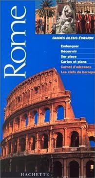 Rome 2001 par Guide Bleu