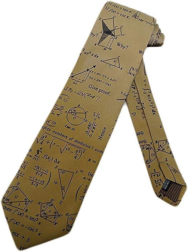Studio Hombre Matemáticas Geometry Corbata - Beis - Talla Única ...