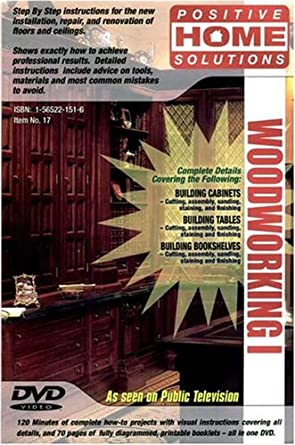 Amazon woodworking vol 1 woodworking dvd do it yourself inc image unavailable solutioingenieria