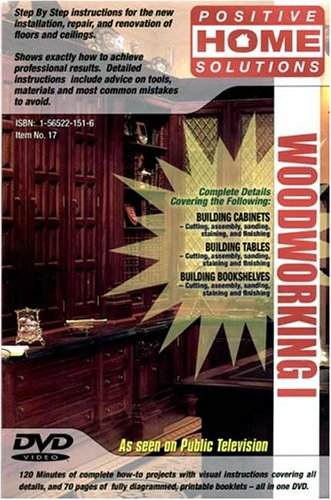 Woodworking Vol. 1: Woodworking DVD by Do It Yourself, Inc.