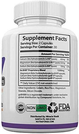 Keto BHB Pills 1200mg Ketogenic Keto Pills for Women and Men Ketogenic Carb Blocker Best Keto Diet Pills for Women and Men Helps Boost Energy & Metabolism, 60 Capsules 5