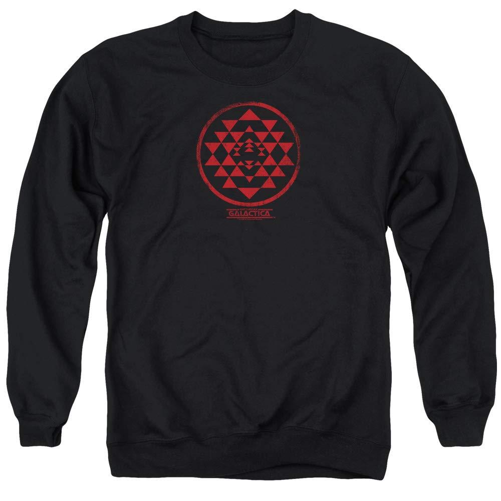 Battlestar Galactica BSG - ROT Swadron Patch Sweater für Männer