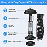 GLOUE Bug Zapper for Outdoor - 5FT Power Cable High