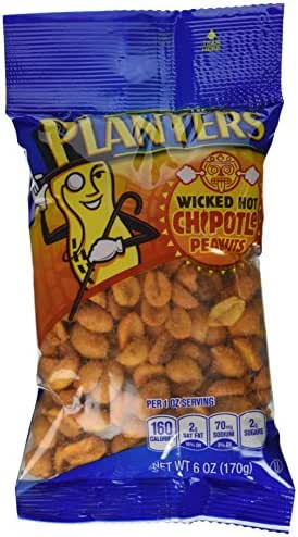 Nuts & Seeds: Planters Chipotle Peanuts