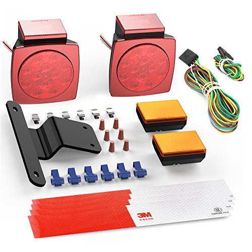 Wireless Led Tow Light Kit - 6