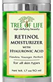 Facial Moisturizer With Hyaluronic Acid - ToLB Retinol Cream Anti Wrinkle Moisturizer - Clinical Strength - Anti Aging Cream Retinol Moisturizer for Facial Care - 1.7 oz