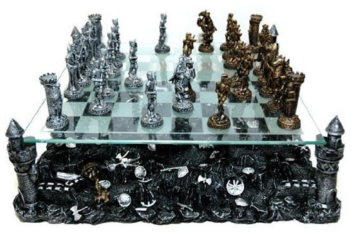 Renaissance Knight Chess Recreational Classic Strategy Game Set by CHH