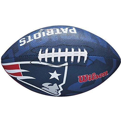 Wilson NFL Junior Team Logo Football (New England Patriots)