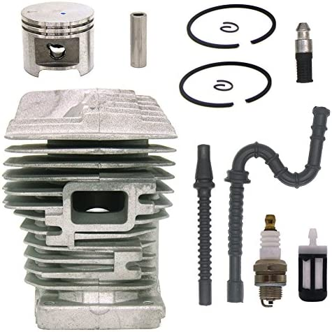 Hippotech New 530037793 Air Filter for Poulan Craftsman Chainsaw 530095646 Fuel Filter 188-513 530071835 Primer Bulb Fuel Line Spark Plug Kits