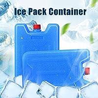 Cool Coolers Slim Ice Packs Paquetes de congeladores Originales y de Larga duraci/ón para refrigeradores//Bolsas de Almuerzo//Cajas de Almuerzo//oficinas
