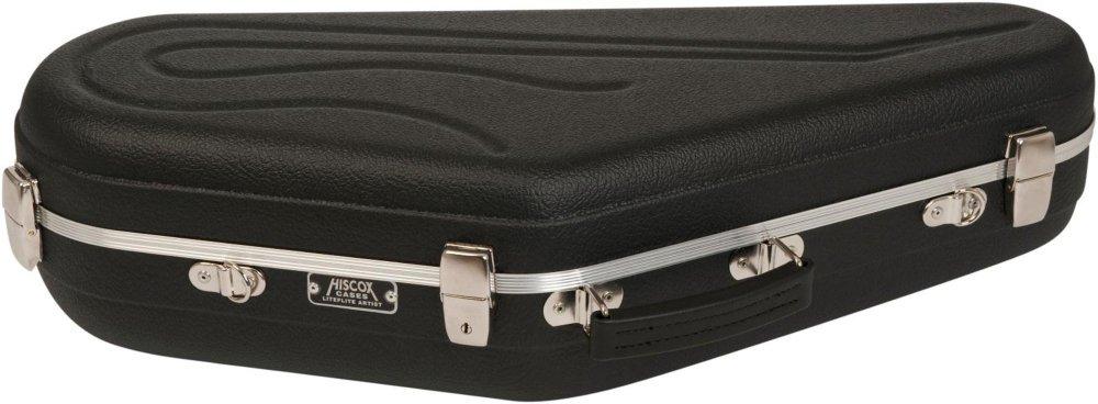 Hiscox Cases ''Artist Series Tenor Saxophone Case Black Shell, Silver Interior''