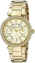 Michael Kors Women's Parker Gold-Tone Bracelet Watch MK6056