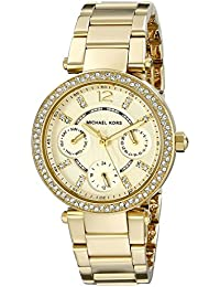 Womens Parker Gold-Tone Watch MK6056