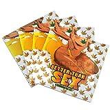 100 Better Than Sex Gold Leaf Parchment Paper Non Stick Oil Squares 4 x 4'' PP-028